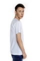 t-shirt męski Follow White